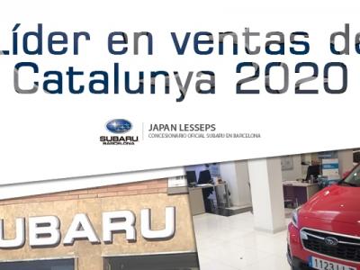 Líder en ventas de Cataluña 2020