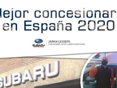 Subaru Japan Lesseps, concesionario del año 2020