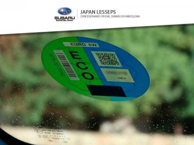Etiquetas medioambientales de los vehículos
