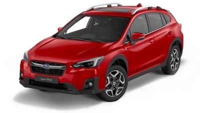 Subaru XV 1.6i 114cv CVT Executive Plus Pure red