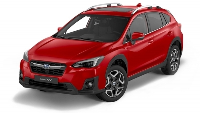 Subaru XV 2.0 HYBRID CVT Executive Plus Pure red