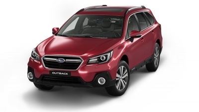 Subaru OUTBACK 2.5i (175cv) Executive Silver Edition Crimson Red Pearl