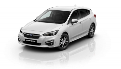 Subaru IMPREZA 1.6i-S CVT Executive Crystal white pearl