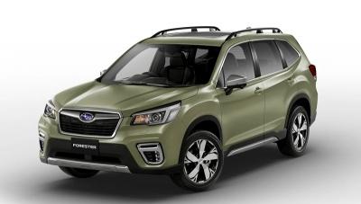 Subaru FORESTER 2.0 HYBRID CVT EXECUTIVE PLUS Jasper green metallic