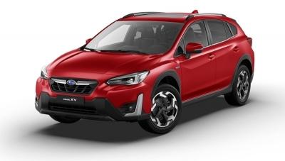 Subaru XV 1.6i 114cv CVT Sport Plus MY21 Pure red