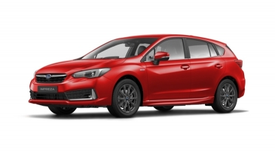 Subaru IMPREZA 2.0i HYBRID CVT URBAN Pure red